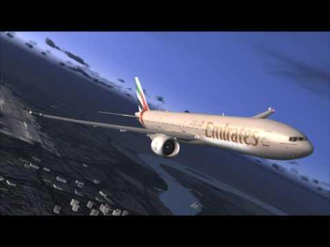 EK620 777-300ER EMIRATES DUBAI - SIALKOT