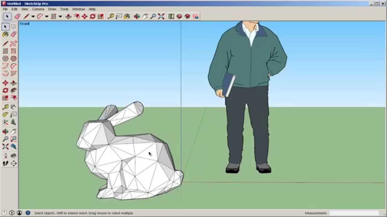 sketchup import an stl file youtube