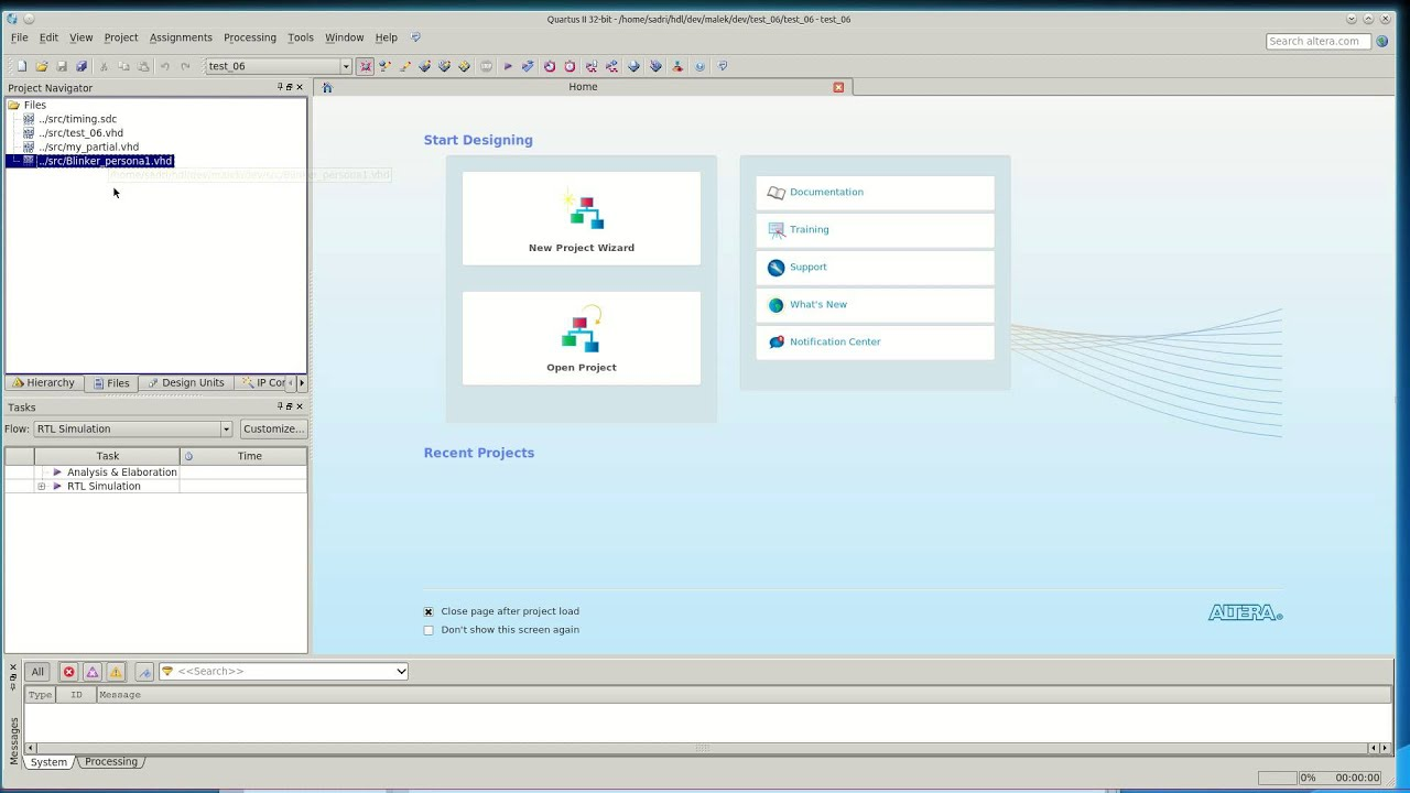 Partial Reconfiguration in Altera Cyclone V - Part 1 - Section 2