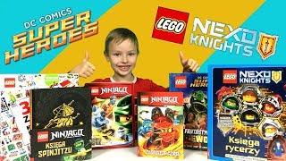 LEGO Nexo Knights, Ninjago i DC Super Heroes! - Co nowego z książek LEGO #2
