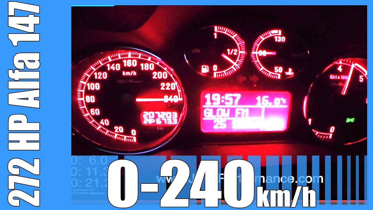 Alfa Romeo 147 1 9 Jtd Tuned 272 Hp 0 H Fast
