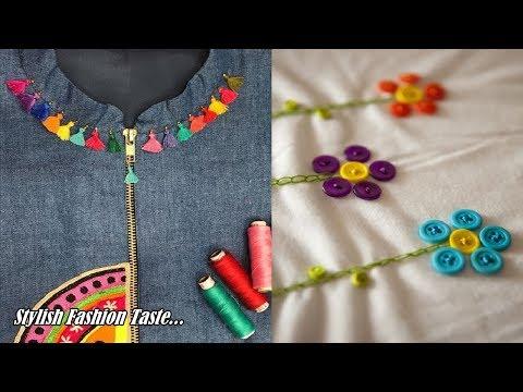 Neck Design Collection For Suit | Boutique Neck Design For Girls | Neck Design Images For Suits |