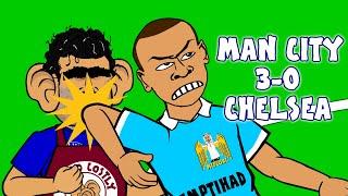 man city vs chelsea 3 0 2015 goals highlights kompany fernandinho aguero begovic costa