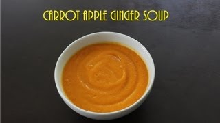 [paleo Cooking] Carrot Apple Ginger Soup