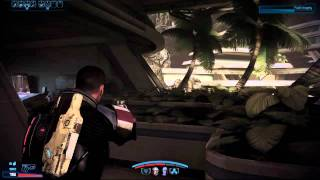 Mass Effect 3 PC Demo Gameplay Second Mission GTX 460
