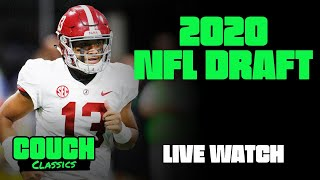 Couch Classics - Episode 03 - 2020 NFL Draft Live Watch