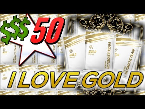 THE $50 SERIES PART 4 - GOLD PACKS - $3 PACKS   FIRST BIG PULL!