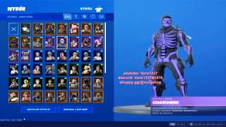 🔥 BUY ACCOUNT FORTNITE PURPLE SKULL TROOPER 90 + SKINS SAVING THE WORLD CHEAPLY FULL ACCESS! 🔥