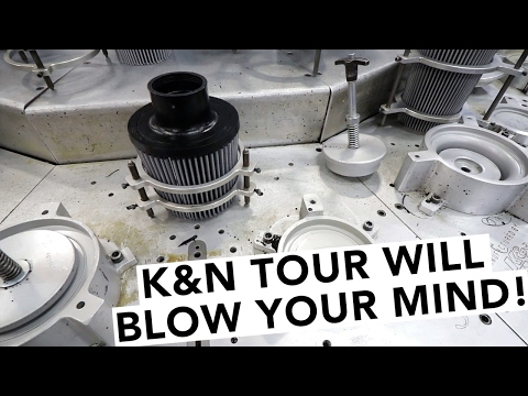 How Performance Air Filters Are Made - K&N Filters Factory Tour