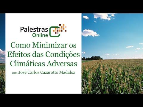 Como Minimizar os Efeitos das Condições Climáticas Adversas - Palestra Online Pioneer