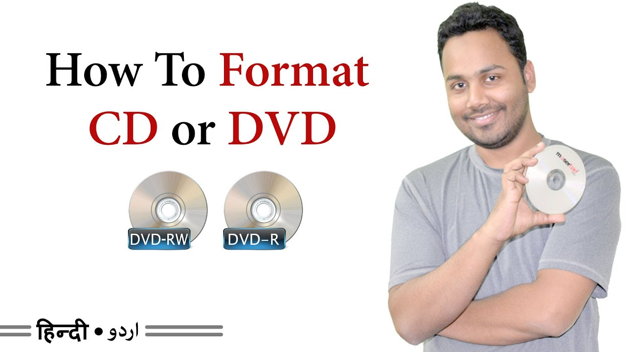 How to format a DVD