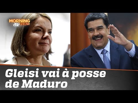 Conexão PT-Venezuela: Gleisi Hoffmann vai à posse de Maduro