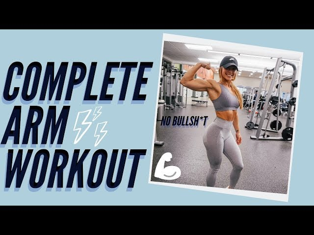 BUILD BAD ASS ARMS | FULL ARM WORKOUT | LAUREN FINDLEY