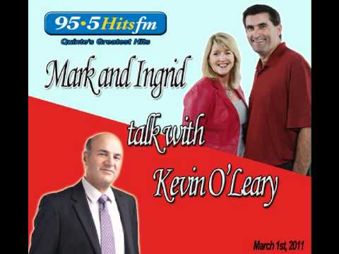 95.5 Hits FM interviews Kevin O'Leary
