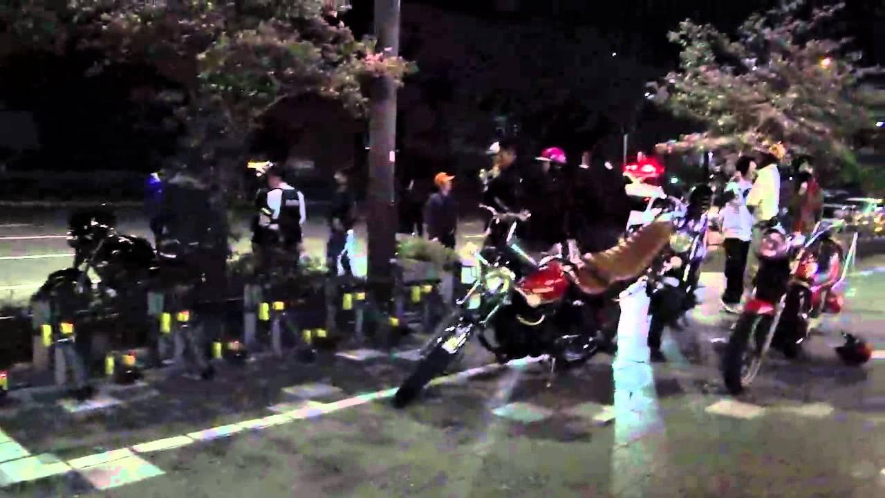 ??? Motorcycle Gangs Only In Japan Youtube