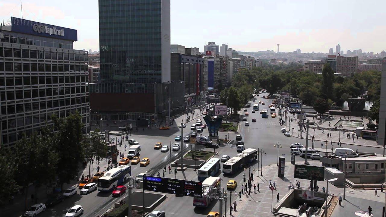 Ankara Kızılay Meydanı 2015 - YouTube