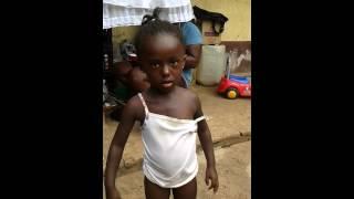 Child dances to sugar tune