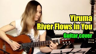 River Flows in You - Yiruma | На гитаре + разбор