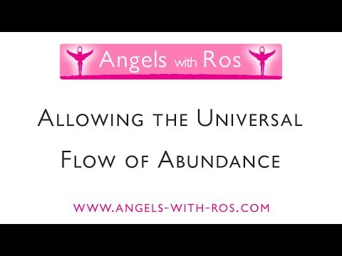 Allowing the Universal Flow of Abundance with Archangel Zadkiel -  Guided Visualisation / Meditation