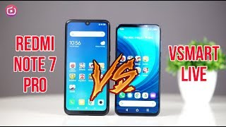 Speedtest VSmart Live vs Redmi Note 7 Pro - Cùng S675 chọn máy nào?