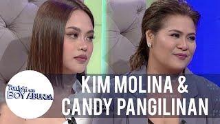Kim Molina and Candy Pangilinan react to bashers comments | TWBA