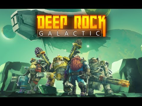 DEEP ROCK GALACTIC | PREVIEW | Early Alpha Gameplay and impressions