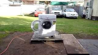 whirlpool washer destruction the unseen footage