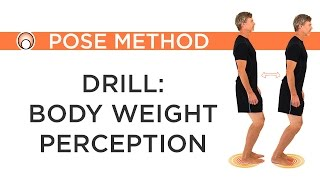 Running Drill - Body Weight Perception