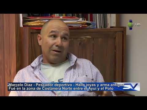 Pescador encontró Joyas y un arma antigua en zona del Ayuí (HD)