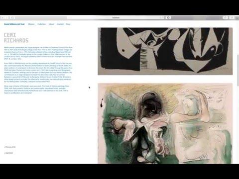 David Williams Art Trust Web