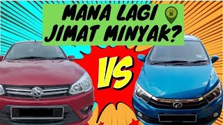 Zul Reviews Saga vs Bezza Fuel Economy 2019 Honest Review Review Jujur