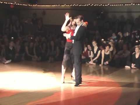 Nick Jones & Amy Anderson at Portland ValenTango 2...