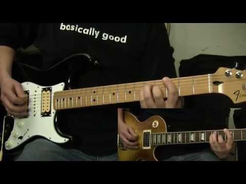Iron Maiden I've Got the Fire guitar cover with solos