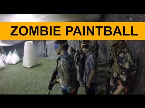 Indoor Paintball - Zombie Game