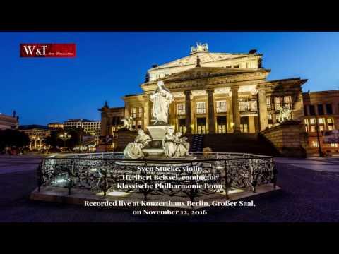 Sven Stucke plays Mozart concerto No.5, mvt I