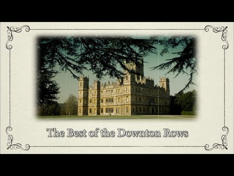 Supercuts: The Best of the Downton Rows || Downton Abbey Special Features Bonus Video