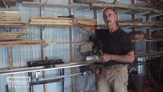 Woodworking Tips: George's Solid Wood Storage