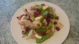 Очень вкусный салат с тунцом и свеклой.