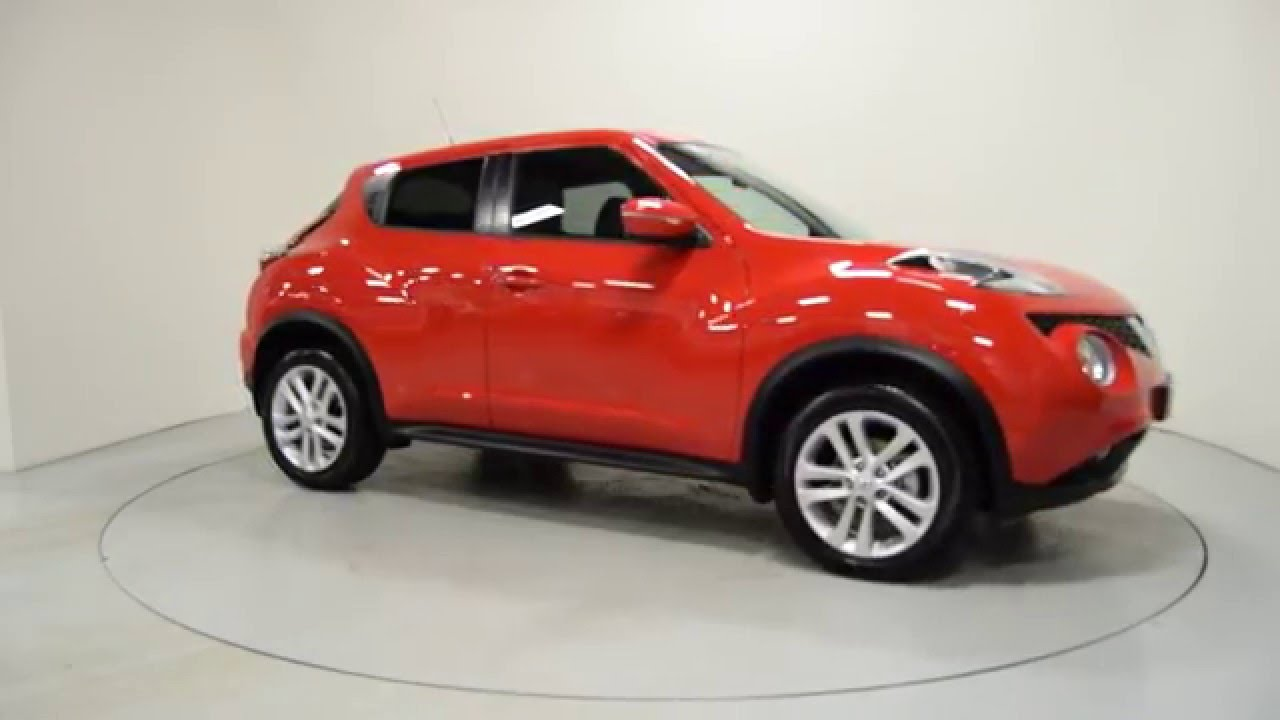 Nearly New 2017 Nissan Juke Red Ni Shelbourne Motors Hxz9838