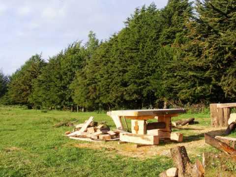 Fabricacion muebles rusticos de madera de cipres youtube for Muebles rusticos de madera