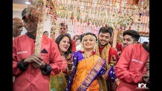 Marathi Wedding Highlights 2018 (Akshaya ❤️ Vaibhav) Navrai Majhi | Band Baja