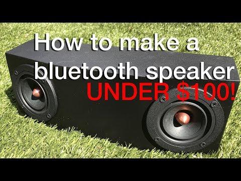 How To: BEST DIY Bluetooth Speaker Under $100