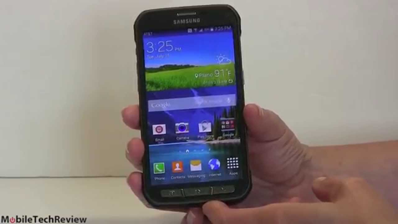 Samsung Galaxy S5 Active Review - YouTube