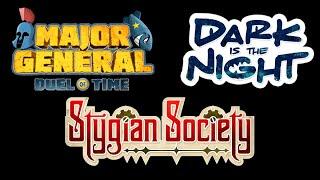3 Logos, 3 Hours [Major General, Stygian Society, Dark is the Night – APE Games]
