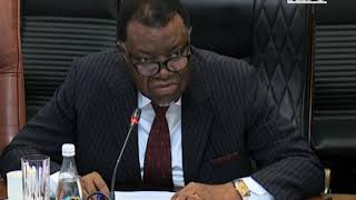President Geingob disappointed with Police Officers assigned to VIP's -nbc