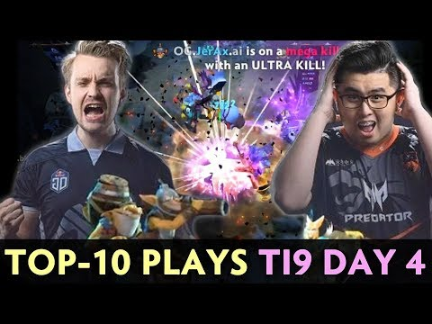 TOP-10 BEST PLAYS of The International 2019  FINAL DAY Group Stage