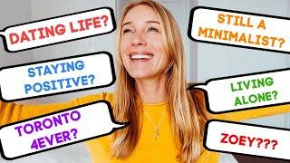 WHERE I'M AT | Minimalism? Dating Life? Positivity?