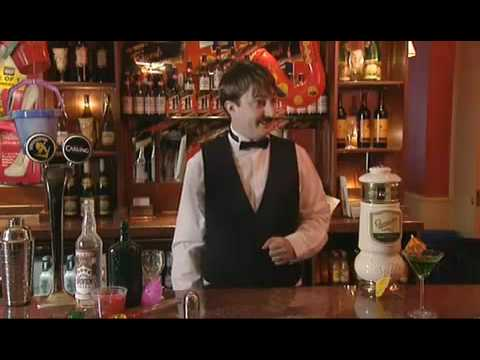 David Mitchell does his Cocktail trick - BBC Comedy