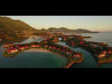 Birds Eye View of Eden Island, Seychelles - Elite Residences