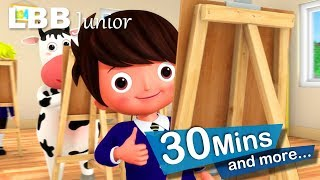 1, 2, It's Time For School | And Lots More Original Songs | From LBB Junior!
